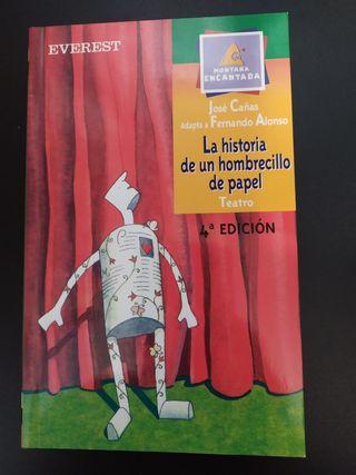 Libro La historia de un hombrecillo de papel