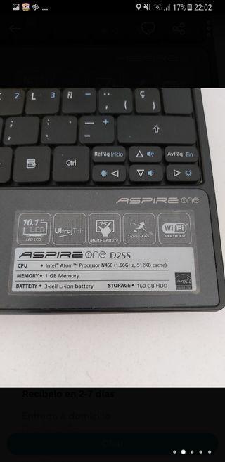 Acer Aspire One NEGOCIABLE