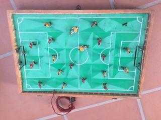 Futbolín electromagne Clan Juguete antiguo