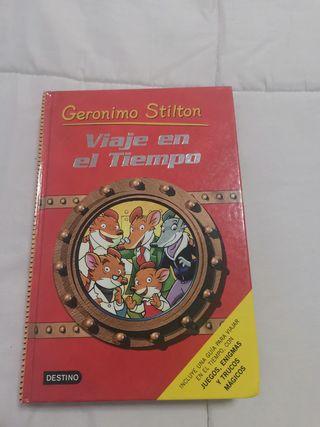 Gerónimo Stilton, Viaje en el tiempo