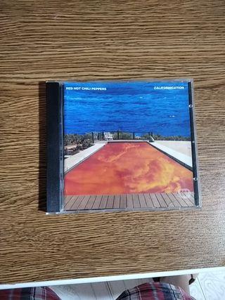 Caja CD con libreto Red Hot Chili Peppers
