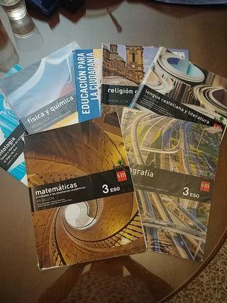 Libros SM 3° ESO.