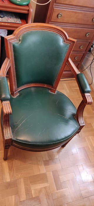 Escritorio y silla victoriano ingles