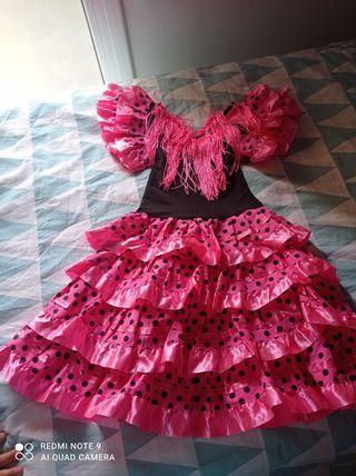 Vestido sevillana talla 2-3