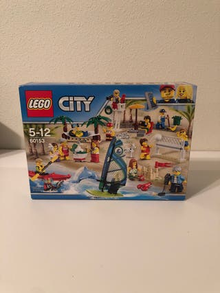 LEGO 60153 - City - Minifiguras playa