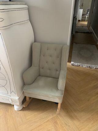 Mecedora sillón niños Zara home