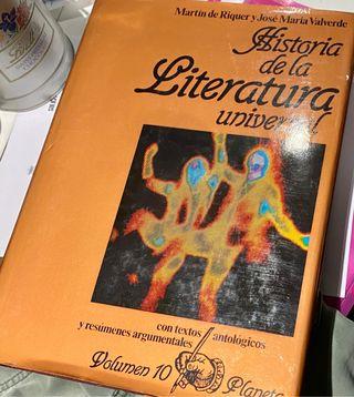 Colección Historia de la Literatura Universal