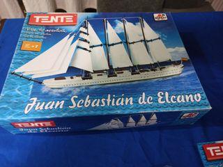 Tente Juan Sebastián Elcano nuevo