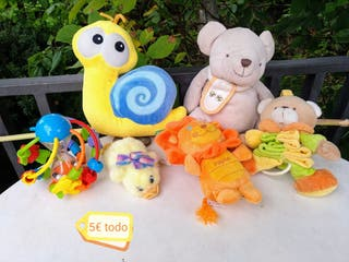 Lote peluches bebés