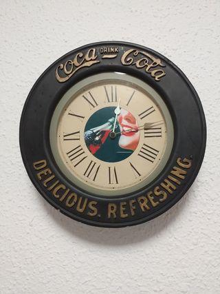 Reloj de pared vintage Coca Cola