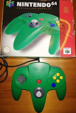 Nintendo 64 mando en caja original