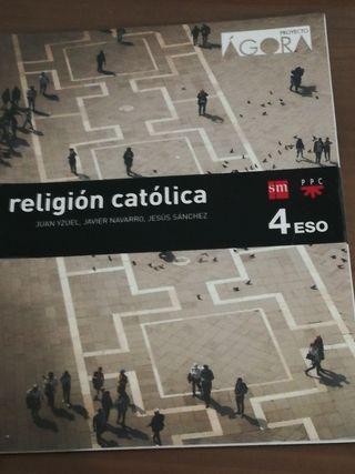 Libro de religión 4 de Eso