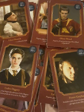 Todas las cartas Harry Potter