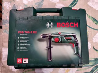 Taladro percutor Bosch 700-2 RE + brocas