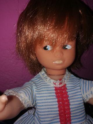muñeca antigua 30 centímetros