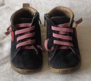 botas nina 24