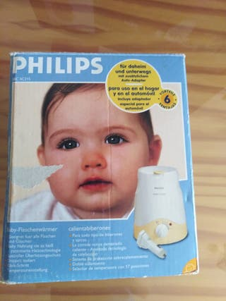 Calienta biberones Philips
