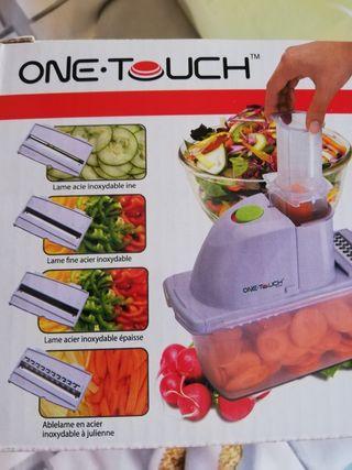 Mandolina eléctrica o corta verduras