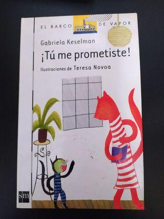 Libro ¡Tu me prometiste!