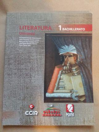 NUEVO Literatura Universal 1° Bachillerato