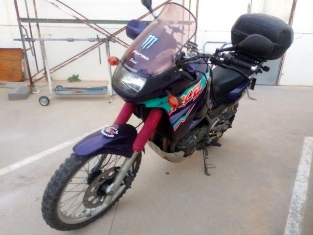 Kawasaki Kle 500 trail