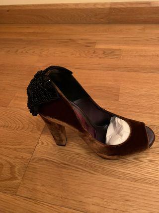 zapatos mujer de boda Magrit número 37