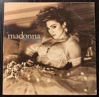 Madonna Like A Virgin Lp Vinilo