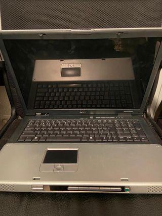 Portatil Acer Aspire 9500 para piezas