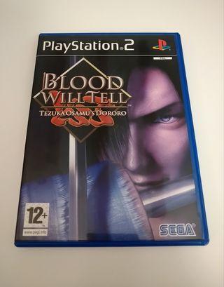 Blood Will tell Tell Playstation 2 Pal España