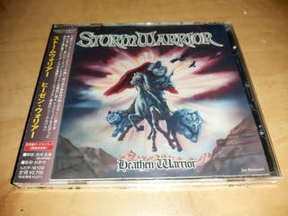 STORMWARRIOR CD HEATHEN..JAPAN PRESS 2011-ELVEKING
