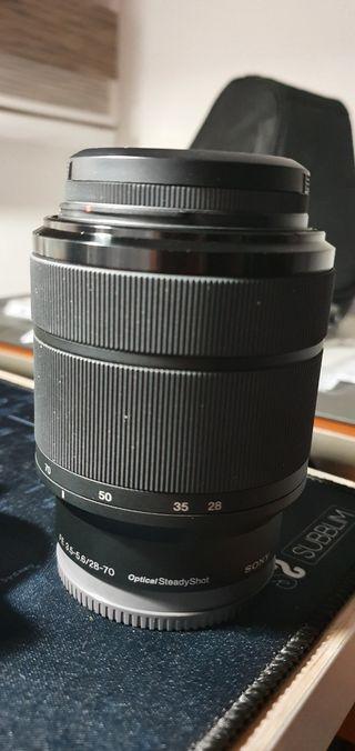 Objetivo Sony fe 3.5-5.6 28-70 mm