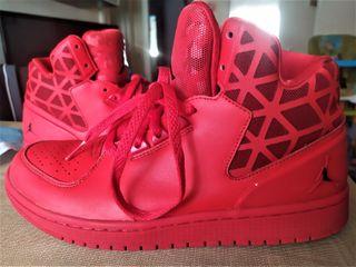 Bambas Nike Air Jordan Rojas y Negras