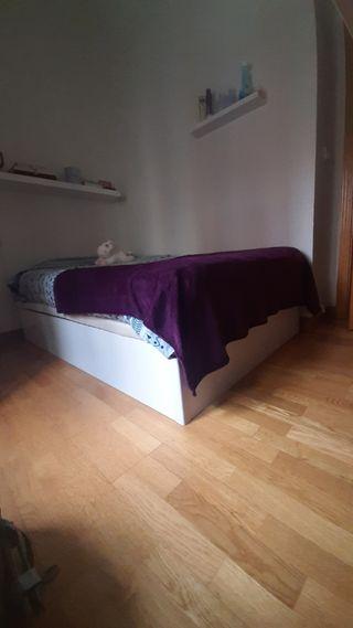 Canapé abatible 120cm