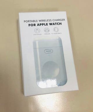 Cargador inalámbrico de Apple Watch