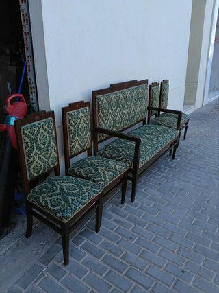 juego de sillas antiguo