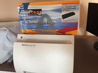 Impresora HP láser + toner