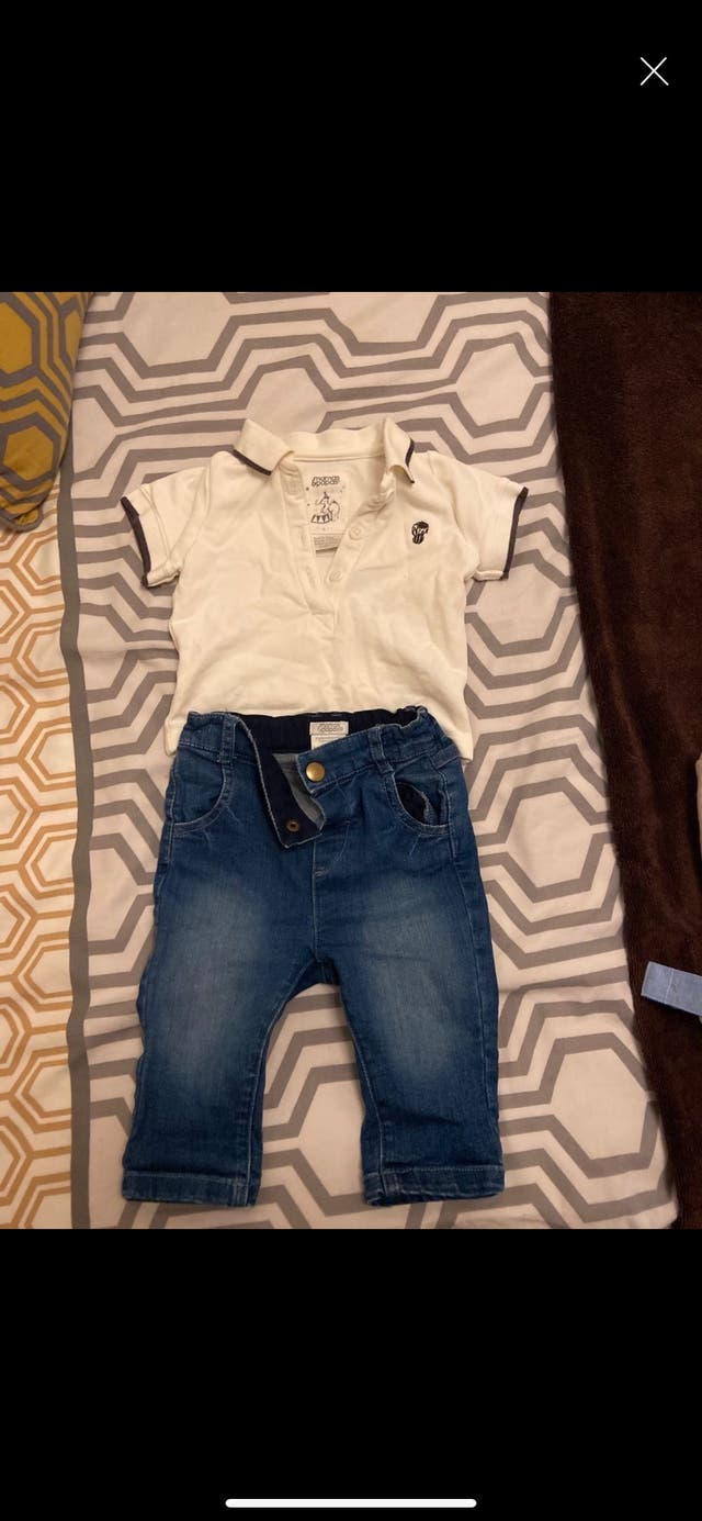Mamas & papas outfit 3-6 month