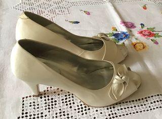 Zapatos de novia T 38-39