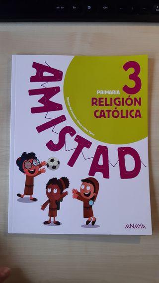 Libro de religión de tercero de primaria