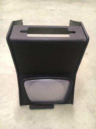 Consola central radio casette coche 80's