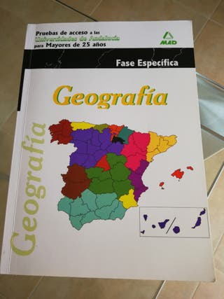Libro de Geografía. Mad