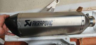 escape akrapovic hp titanio y carbono bmw s1000rr