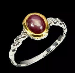 Precioso anillo plata ley 925.Hecho a mano