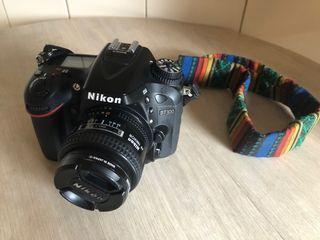 Nikon d7100 + lente nikon 24mm f/2.8