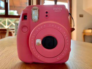 Cámara Fujifilm Instax mini 9 rosa