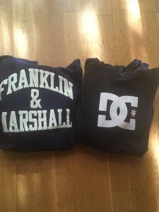 Sudaderas Franklin and marshall y dc