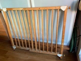 Valla separadora escalera niños o animales