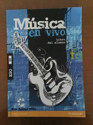 Libro Música en Vivo 3 ESO