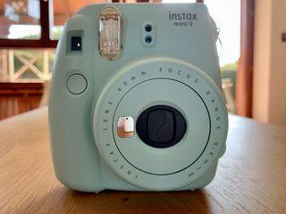 Cámara Fujifilm Instax mini 9 azul verde agua