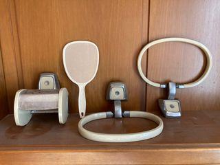 Accesorios baño vintage